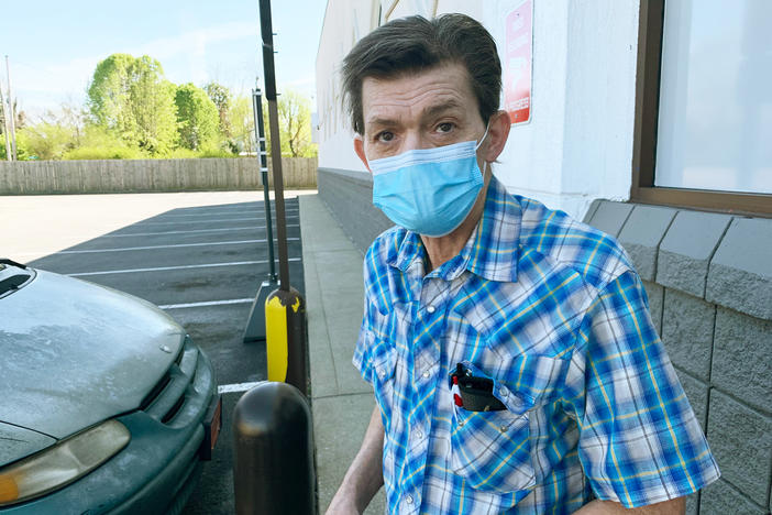 "Hartsville, Tenn., resident Rick Bradley, 62, received his first COVID-19 vaccine dose in late March at a local Walgreens, saying, ""This is not a summer cold or a conspiracy."" He says some neighbors have become so used to COVID-19 that getting vaccinated has fallen off the priority list."