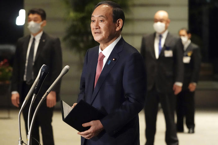 China To Loom Large At Biden's Summit With Japan's Prime Minister Yoshihide Suga