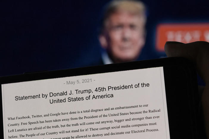 Why Facebook's Decision On Trump Could Be 'Make Or Break' For His Political Future