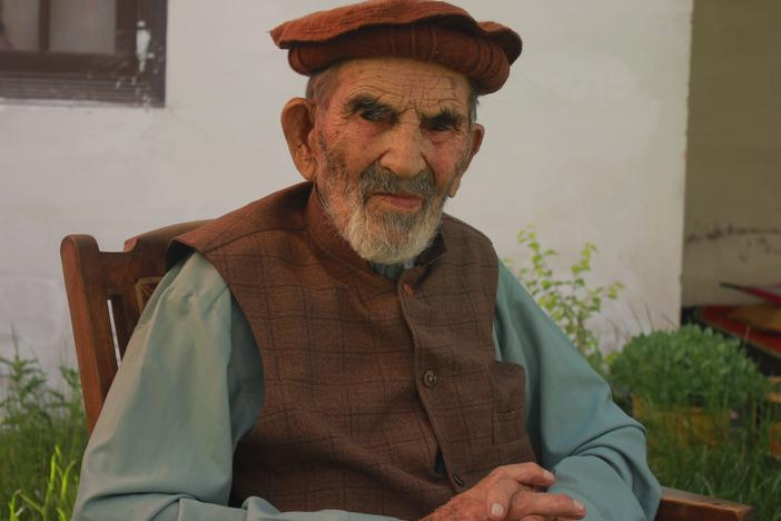 Aziz Abdul Alim, a 103-year-old man from a remote valley in Upper Chitral of northern Pakistan, is both a COVID survivor and a proud supporter of the COVID vaccine.