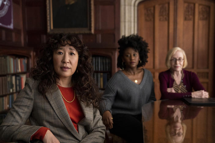 www.gpb.org: Sandra Oh Takes The Lead In 'The Chair' And 'Killing Eve'