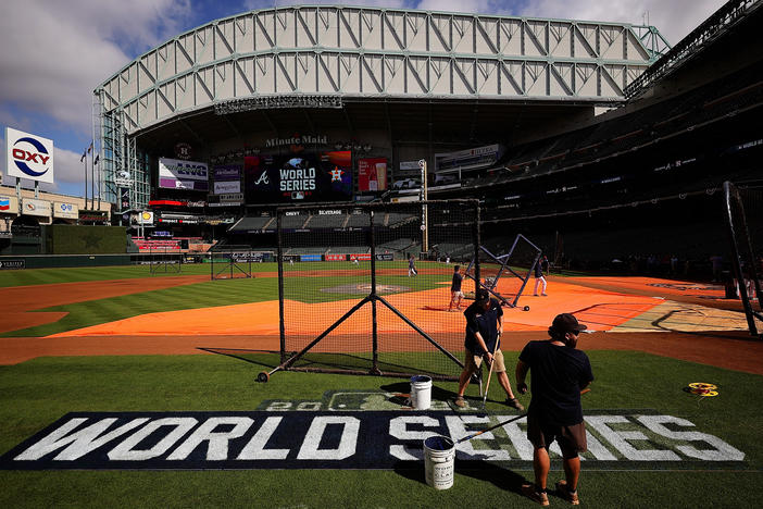Why some fans say the Braves vs. Astros World Series is a matchup of good vs. evil