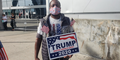 Trump Supporters Protest Of State Farm Arena