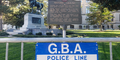 Georgia State Capitol Barricaded